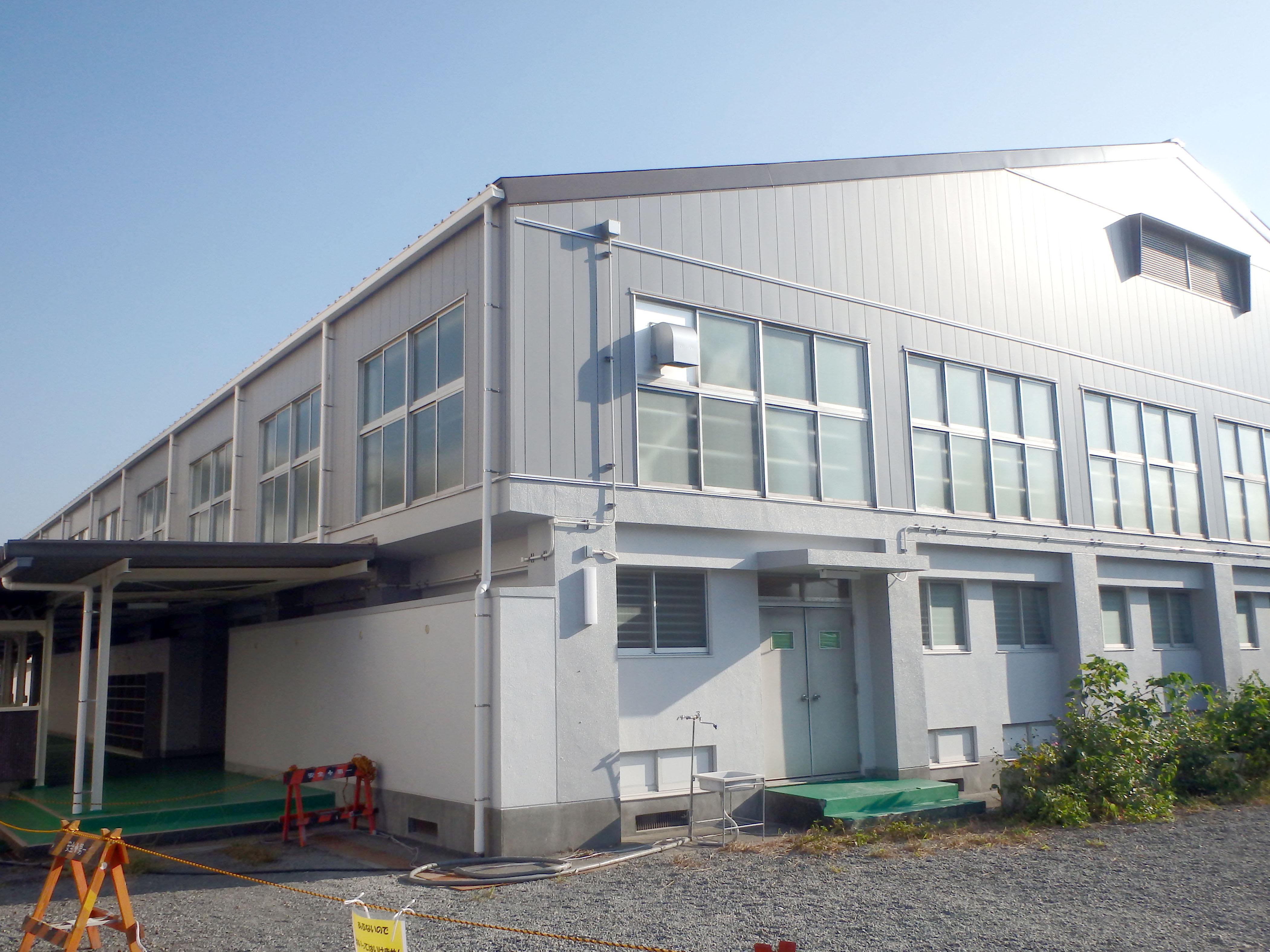 富士市立今泉小学校屋内運動場リニューアル工事