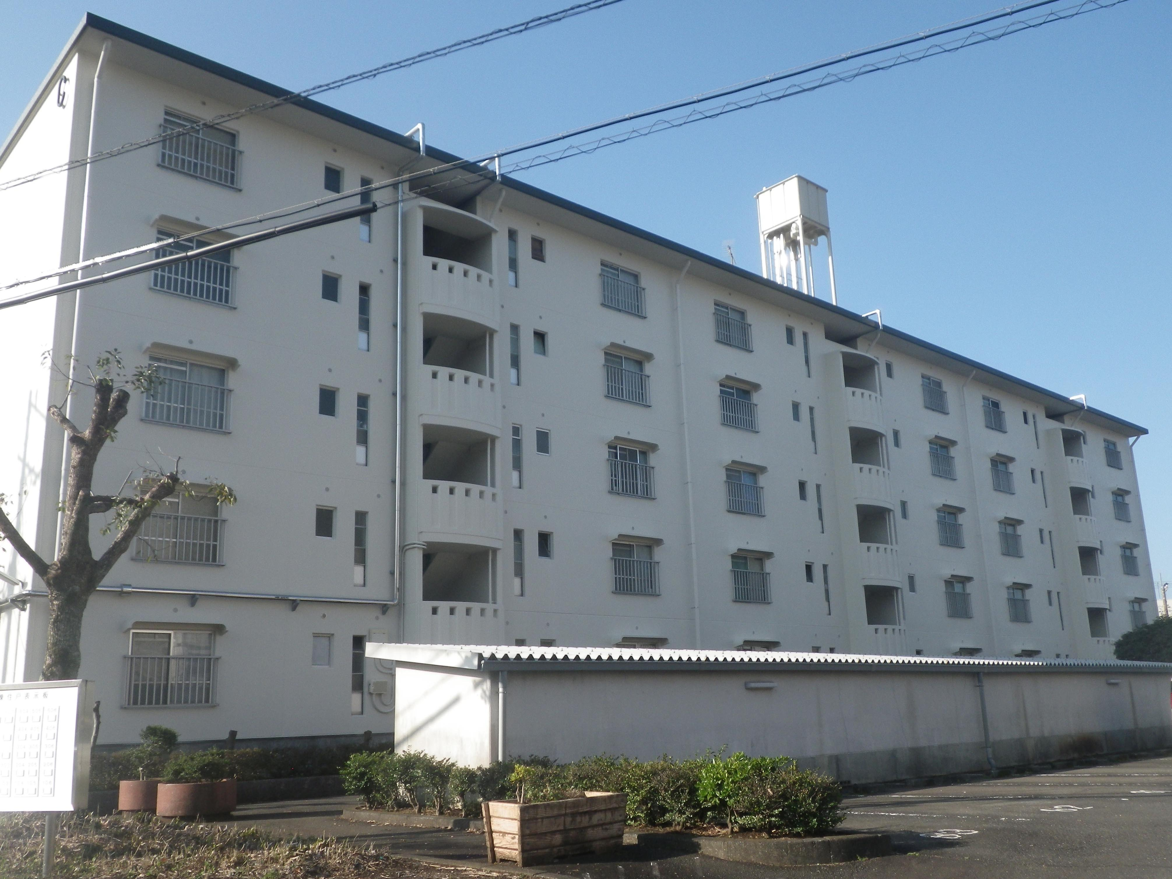 県営住宅富士見台団地C棟外壁改修工事